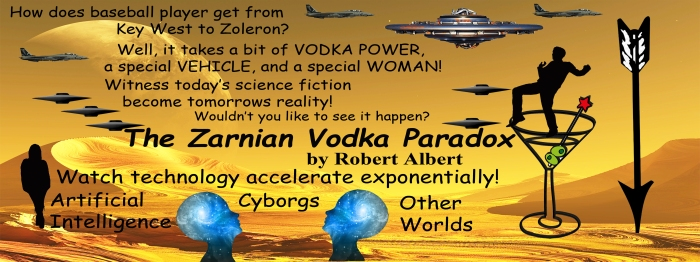 The Zarnian Vodka Paradox Cover .5x1.5